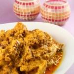 Indiešu vista jogurta-citronu mērcē