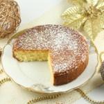 Mannas kūka ar apelsīnu sīrupu