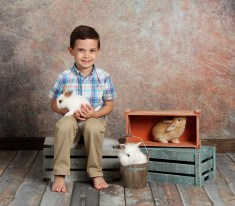 bunny mini session