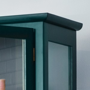 Close up image of Lindebjerg Design Color N1 Vitrine Cabinet top