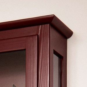 Close up image of Lindebjerg Design Color N4 Vitrine Cabinet top