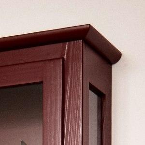 Nærbillede af Lindebjerg Design Color N4 Vitrineskab top