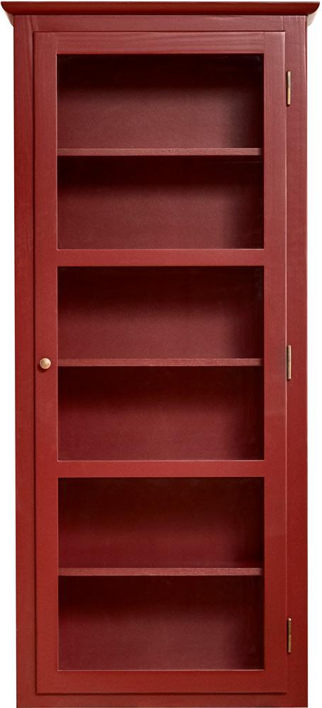 Produktbillede af Lindebjerg Design Color N4 Red Vitrineskab