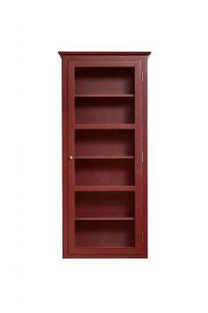 Produktbillede af Lindebjerg Design Color N4 Rød vitrineskab