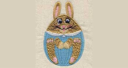 April 2010 Free Embroidery Design