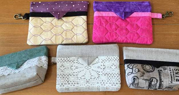 How to Make In-the-Hoop Snap Bags