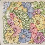 How to Use Inktense on Fabric with Embroidery