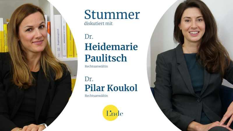Dr. Heidemarie Paulitsch und Dr. Pilar Koukol. (Bild: © Linde Verlag)