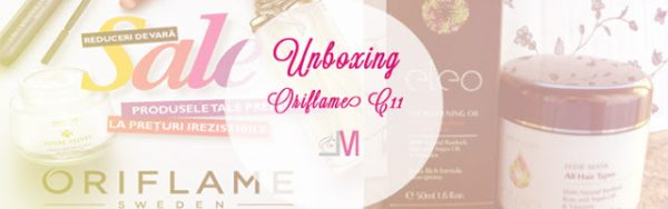 Unboxing Oriflame C11 2015