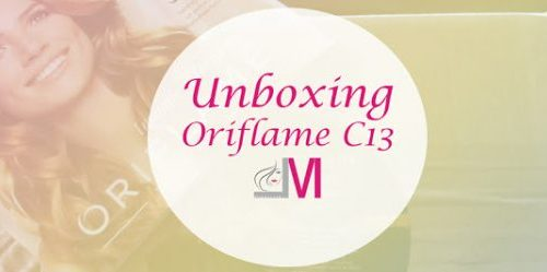 Unboxing Oriflame C13