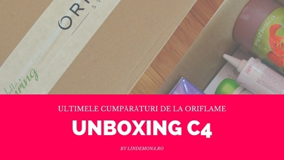 Unboxing oriflame c4 2016