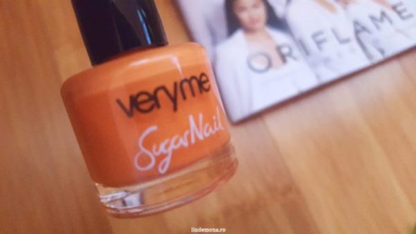 Ojă Very Me Sugar nuanta Sweet Orange Oriflame cod 31883