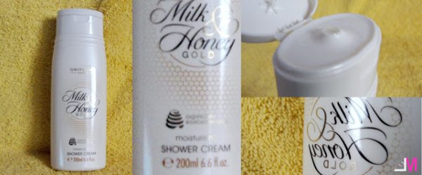 Crema de dus Milk and Honey by Oriflame