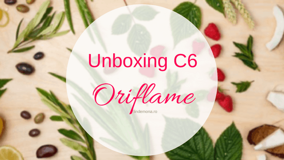Unboxing Oriflame c6 2017 beauty blog lindemona