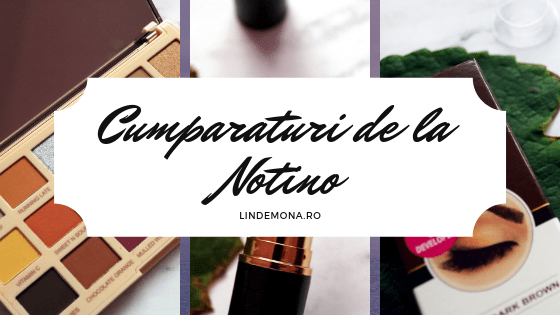 Cumparaturi de la Notino lindemona beauty blog