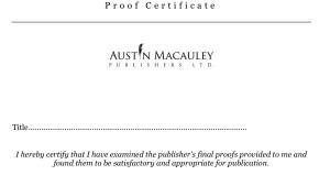 Proof certificate