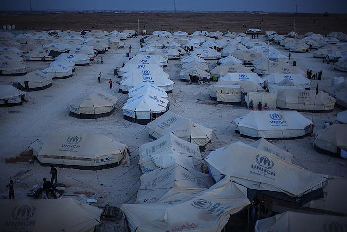 Flüchtlingcamp des UNHCR, Zelte