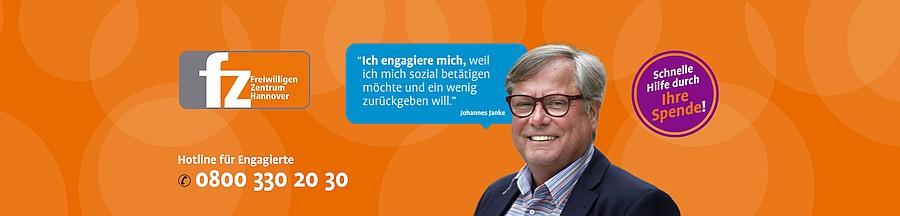 Freiwilligenzentrum Hannover Screenshot