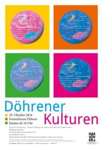 Plakat Döhrender Kulturen 29.10.16