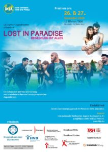 Aufführung Lost in Paradise, Plakat