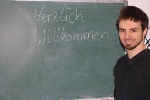 Marius Metz, Deutschkurs A2 IIK