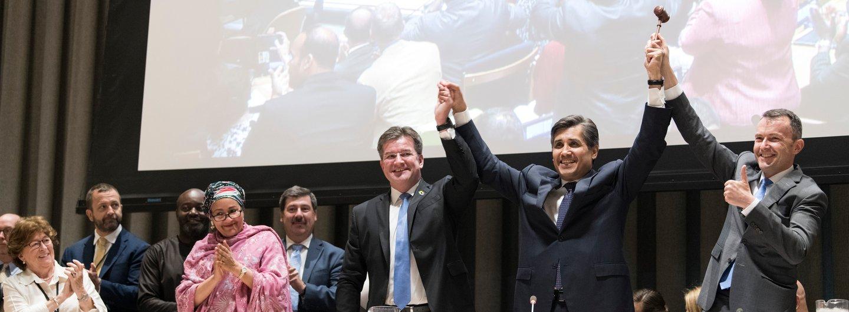 Globaler Pakt für Migration, Unterzeichnung bei UN
