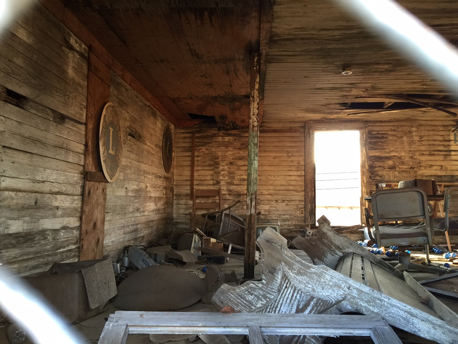 Second floor interior October 2015. Photo by Sam Higdon.
