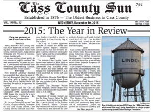 CassCountySun 30Dec2015 Pg1