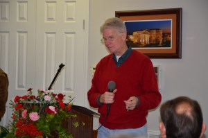 Joe B. Lovelace addressed development activities of the Foundation. Photo by Jo Anna Duncan.