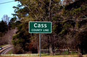 Cass Co Line Rd Sign