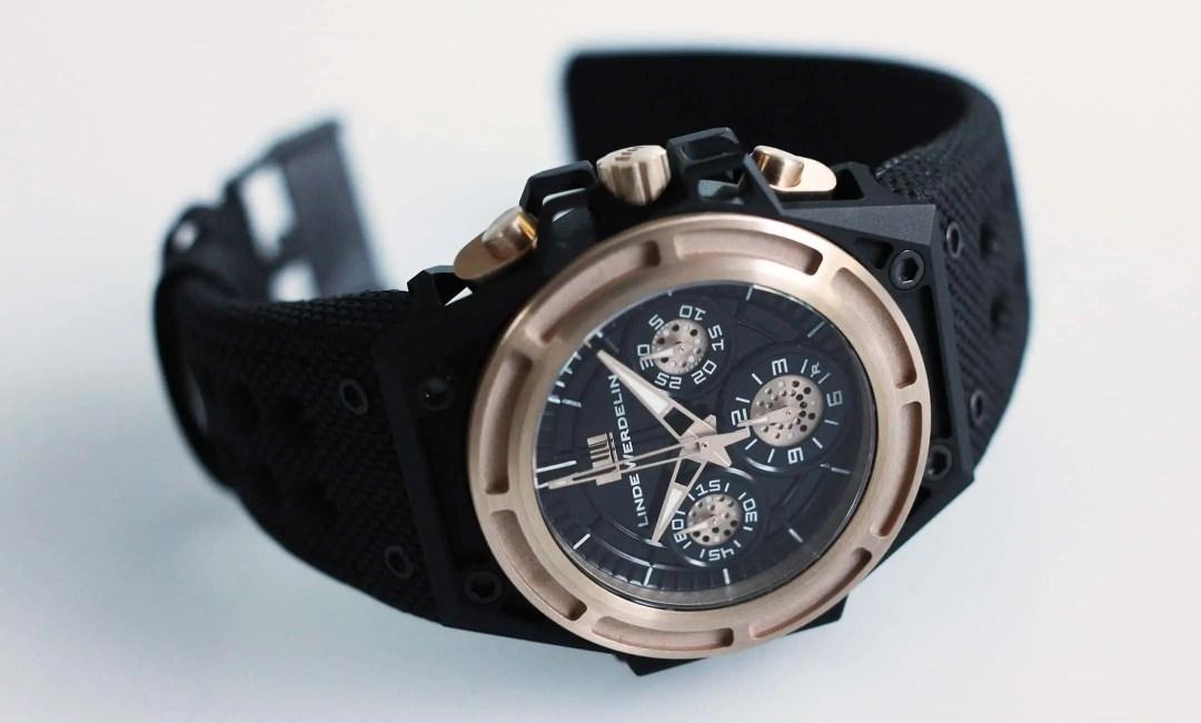 Spidospeed Linde Werdelin pre-owned watch