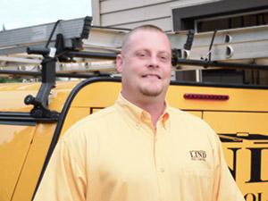Lind Pest Control Employee, Aaron Gnirk