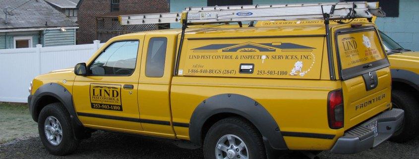 Lind Pest Control Trucks