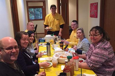 Quarterly Staff Meeting Breakfast