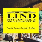 Banner image for Lind Pest Control & Inspection Services logo, Randy & Beth Lind, owners for 20 years