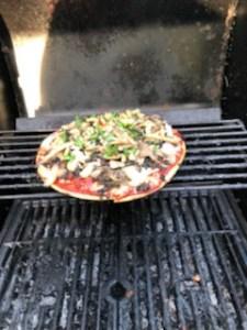 Beth's specialty BBG Pizza 6