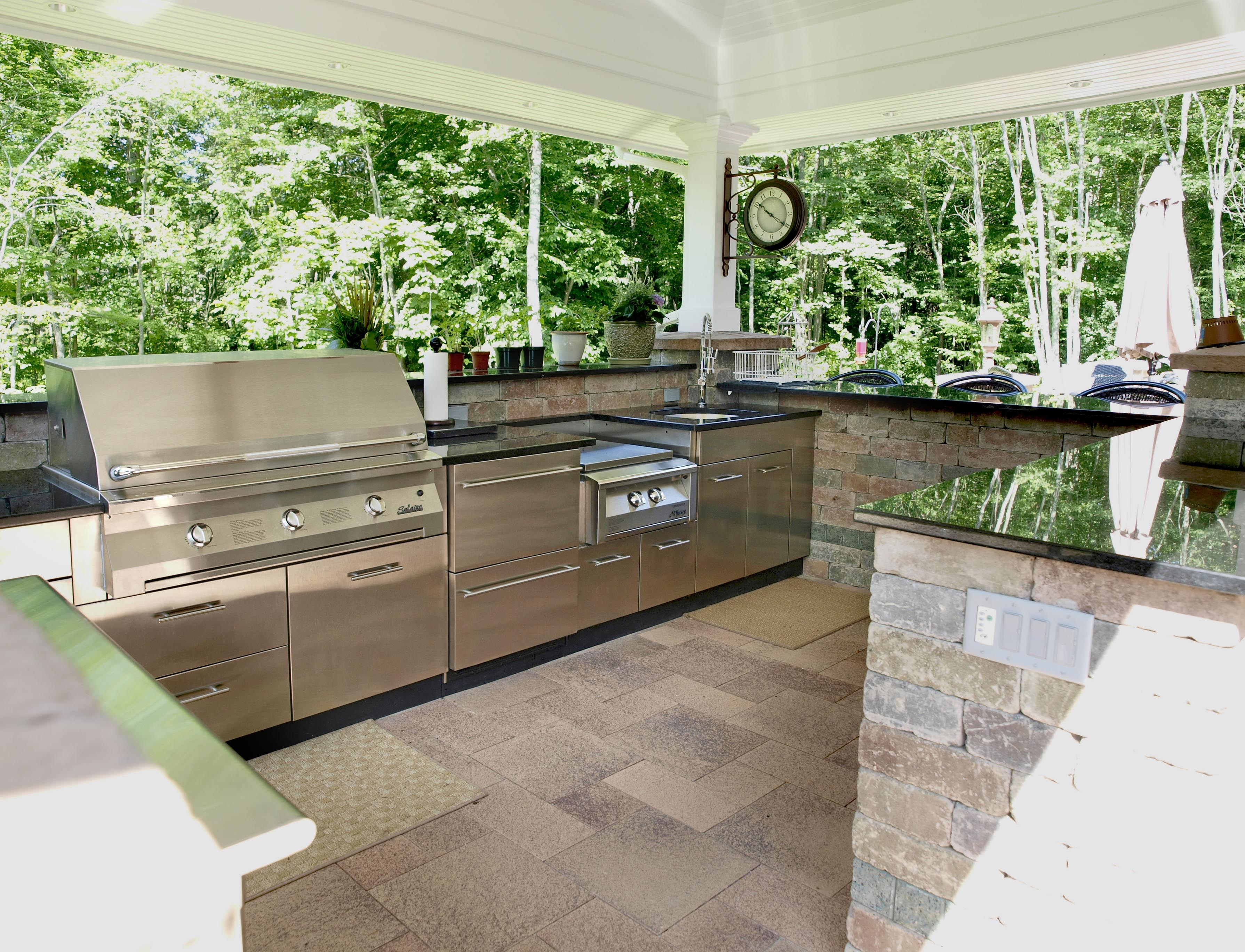 Outdoor Kitchens = The Ultimate Garden Party on Patio Kitchen  id=33648