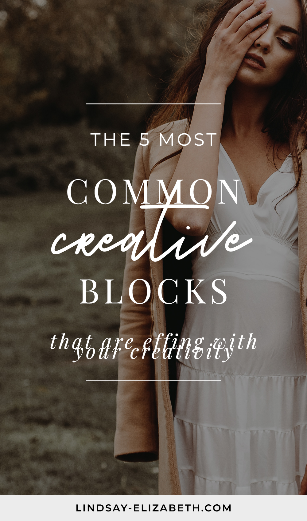 Do you struggle with creative blocks? Are you trying to write a book, open a blog, start a business, or tap into your creativity in some way, but you just can't seem to stay focused and connect? Identifying the block is the first step to freeing yourself from it. Learn what the 5 most common creative blocks are so you can stop being a slave to them and start dealing with them head-on.
