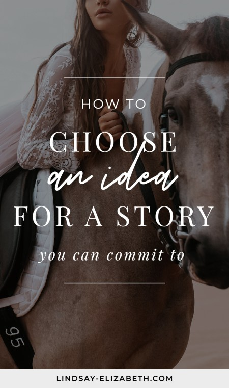 Are you ready to write a book but aren't sure which of your ideas to choose from, or simply aren't inspired enough by any of the ones you have and want something fresh? Follow these tips for choosing (or coming up with) a story idea you'll be able to commit to long-term, including tips for NaNoWriMo.