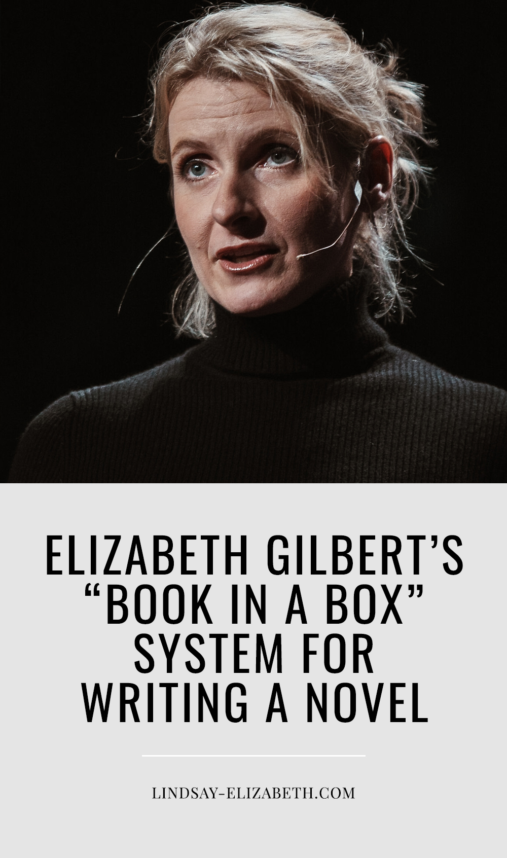 Elizabeth Gilbert has developed an easy note-taking system for writing a novel based on a method she learned from a teacher when she was 14 that helps her avoid writer's block and keep all of her extensive research and ideas organized in an efficient way. Looking for a better way to keep track of your novel's notes and research? Her system might be perfect for you!
