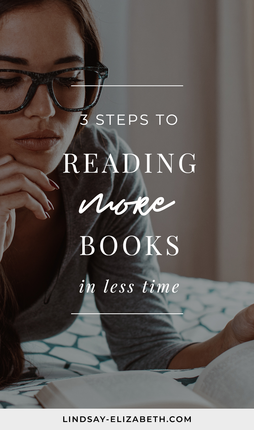 Struggling to find enough time to read and get through your ever-growing TBR pile? I feel you! Even when reading is something you genuinely love and know enriches you, it can be easy for time to get away from us when so much else is fighting for our attention. Try these easy tips and tricks for reading more books in less time. #booklovers #bookish #readingtips