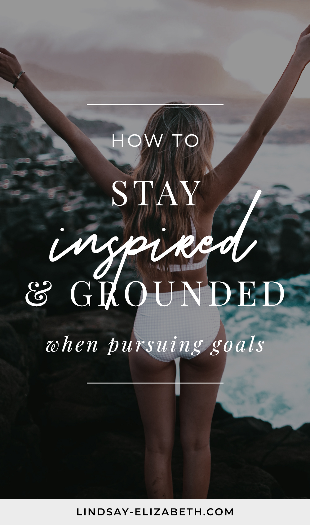 It's easy to be fired up and excited when you set a new goal. The challenge is in maintaining that momentum throughout the journey. While every goal will have its challenges, there are some key things you can do to keep your mindset in the right place so you don't burn out before you get there. Try these tips to stay inspired when pursuing goals (especially the big ones)! #goalsetting #manifestation #lifehacks #selfgrowth