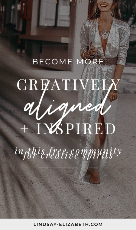 The Creatively Aligned is a private, supportive community for women who want to form a deeper connection with their creativity and cultivate more confidence in art, business, and life. Inside are resources, content, and support on topics such as fear, self-doubt, overwhelm, and other blocks that get in the way of us fully expressing ourselves. If this resonates with you, come join us today!