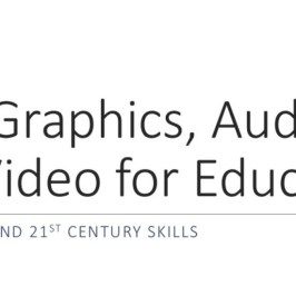 free graphics, audio, and video for education