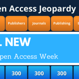 All New Jeopardy for Open Access Week