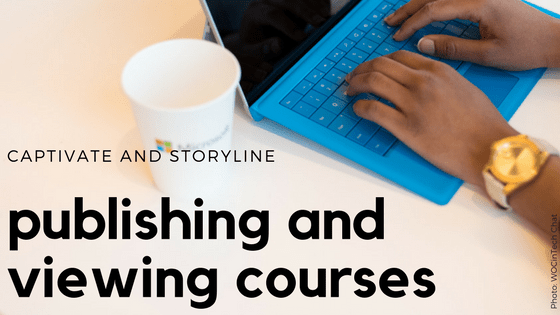 Publishing and Viewing Courses: What's the deal with Flash and HTML5?