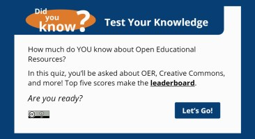 Did you know? Quiz with leaderboard