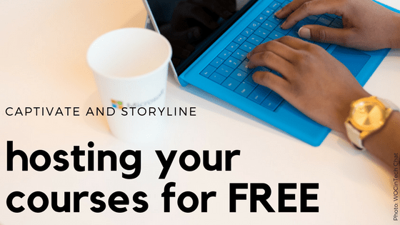 Hosting your Captivate or Storyline courses for free