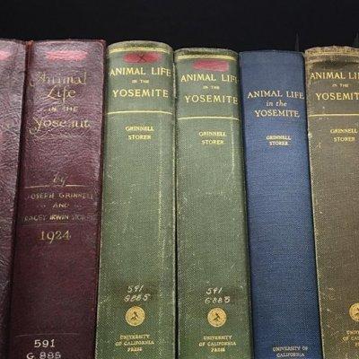 old-animal-life-books