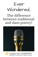 Teach Traditional and Slam Poetry